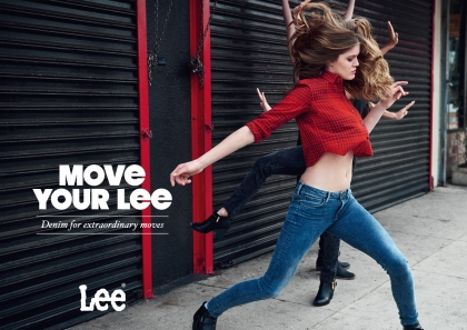 MOVE YOUR LEE® FALL WINTER 2015 campaign