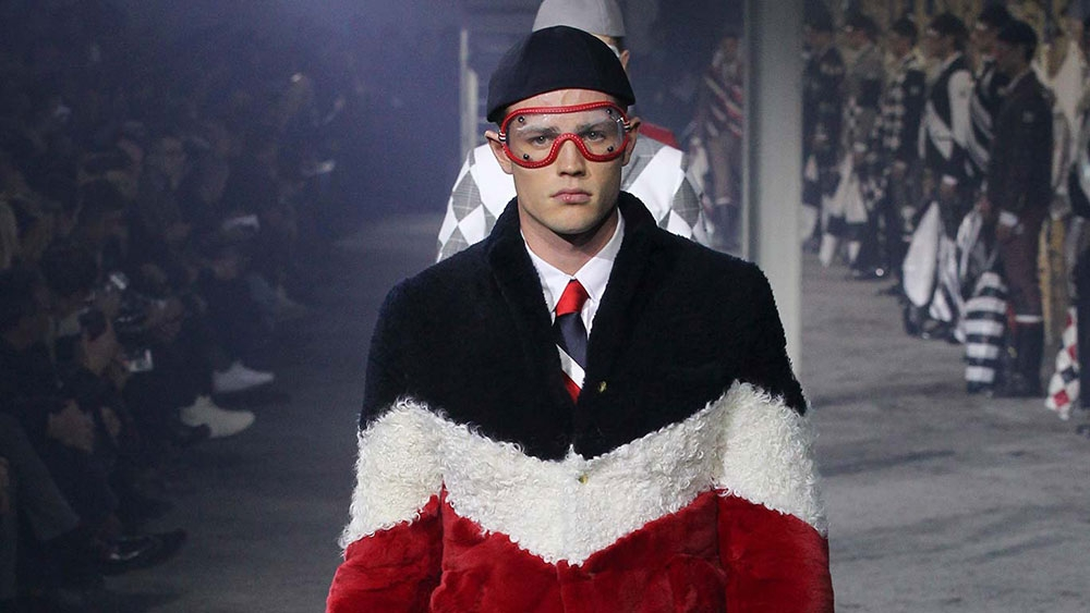 The Moncler Gamme Bleu Mens Collection Fall - Winter 2015 - 16