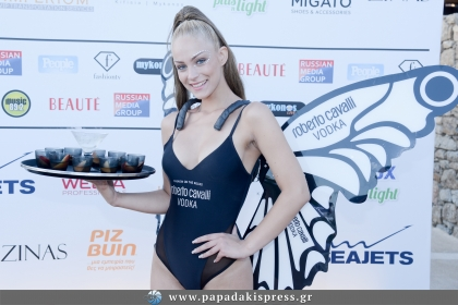ROBERTO CAVALLI VODKA -SUMMER BUTTERFLY EVENT by SANTANNA