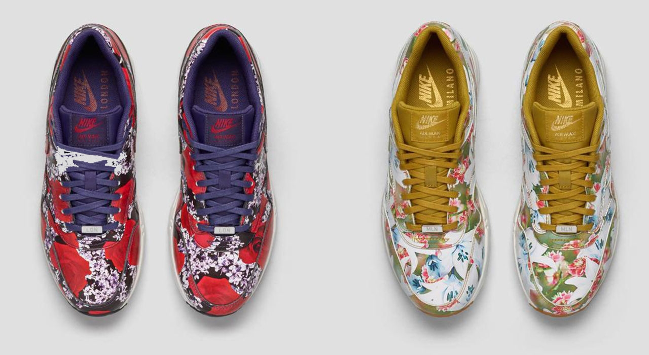 huge discount 44c92 e58bc BOUQUET OF MAX  Η Nike Air Max 1 σε μια ULTRA CITY COLLECTION